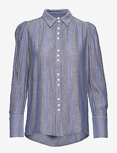 PZJANE shirt - LIGHT BLUE DENIM