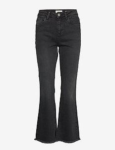 PZLIVA Ultra High Waist Flared - utsvängda jeans - black denim