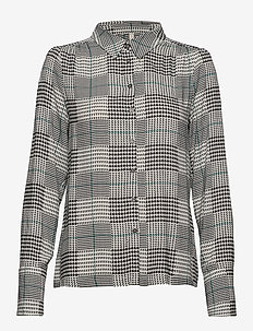 PZJULIANE Shirt - långärmade blusar - black