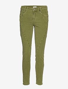 PZROSITA Skinny Pant - skinny jeans - crocodile green