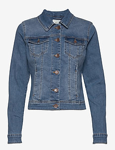 PZSIRA Denim Jacket - light blue denim