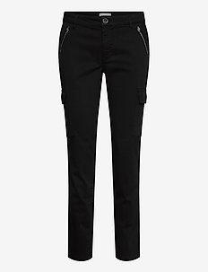 PXELVA Pant - pantalons droits - black beauty