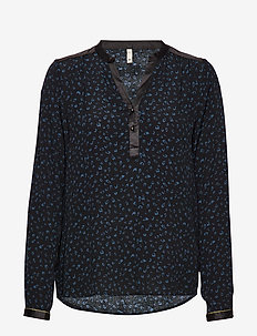 PZFLEUR Blouse - MIDNIGHT NAVY