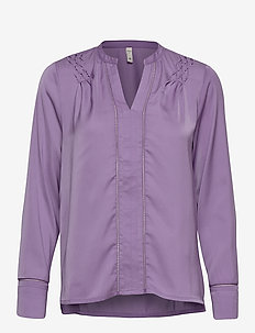 PZHATTIE Blouse - purple haze