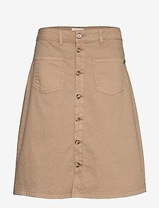 PZDITTE Skirt - denimnederdele - tannin