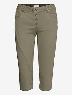 PZROSITA Pants - capri bukser - vetiver