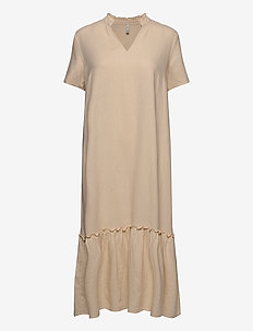 PZBIANCA Dress - midi kjoler - brazilian sand