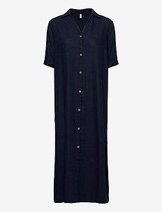 PZBIANCA Shirt - paitamekot - dark sapphire