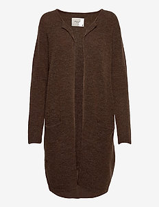 PZASTRID Cardigan - swetry rozpinane - bison melange