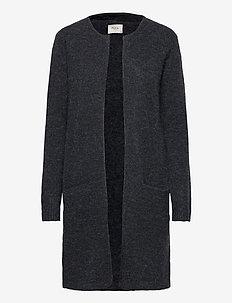 PZASTRID Cardigan - swetry rozpinane - stretch limo melange