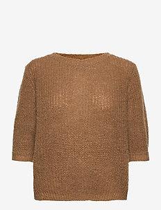 PZIRIS Pullover - strikkede toppe - bison
