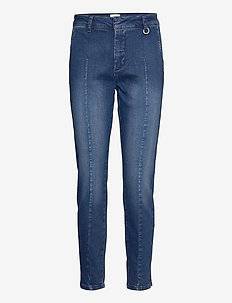 PZCLARA Jeans - slim jeans - dark blue denim