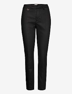 PZCLARA Pant Coated - casual bukser - black beauty