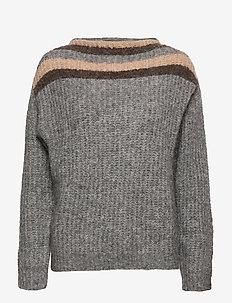 PZRAINBOW Pullover Premium Quality - truien - medium grey melange