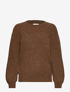 PZASTRID Pullover - trøjer - sugar almond melange