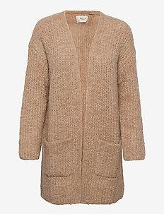 PZRAINBOW Cardigan Premium Quality - swetry rozpinane - tannin melange