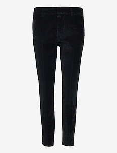 PZCLARA Pant - trousers with skinny legs - stretch limo