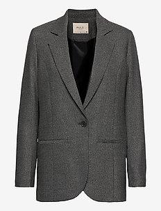 PZMELISSA Blazer - oversized blazere - dark grey melange