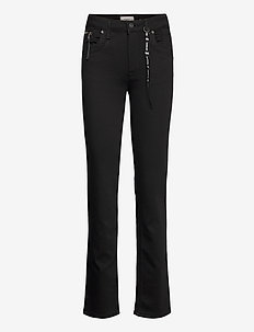 PZEMMA Straight Leg - proste dżinsy - black denim