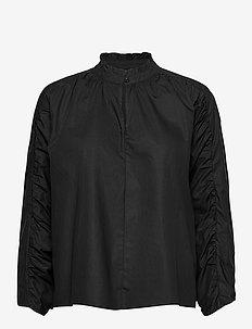 PZWILLO Blouse - langermede bluser - black beauty