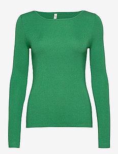 PZSARA Pullover - trøjer - jolly green melange