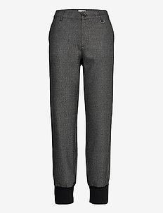 PZMELISSA Pant - spodnie na co dzień - dark grey melange