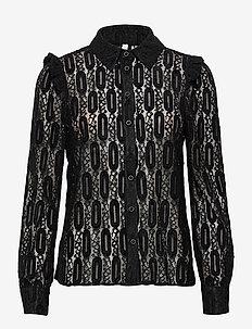 PZDARISSA Shirt - langermede bluser - black beauty