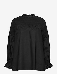 PZWILLO Blouse - langærmede bluser - black beauty