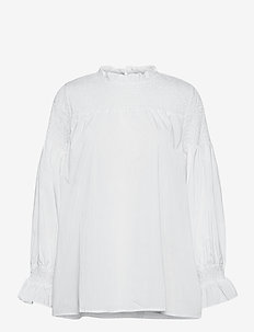 PZWILLO Blouse - langærmede bluser - cloud dancer