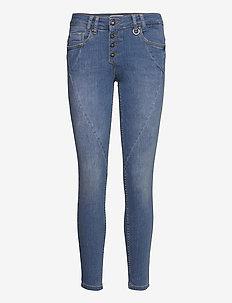 PZANNA Jeans Skinny leg - skinny jeans - light blue denim