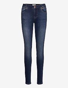 PZEMMA Jeans Skinny leg - dżinsy skinny fit - dark blue denim
