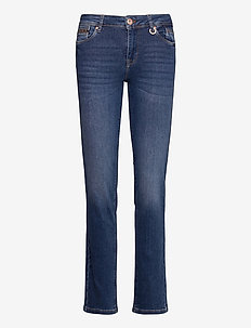 PZEMMA Jeans Straight leg - straight jeans - medium blue denim
