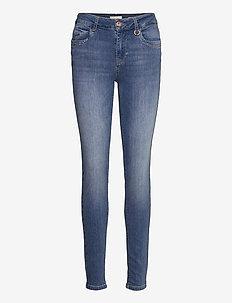PZEMMA Jeans Skinny Leg - dżinsy skinny fit - light blue denim