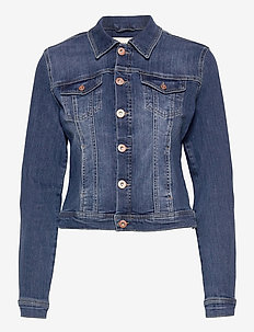 PZSIRA Jacket - denimjakker - dark blue denim