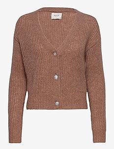 PZIRIS Cardigan PREMIUM - cardigans - brownie melange