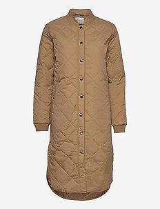PZELINA Jacket - quiltede jakker - tannin