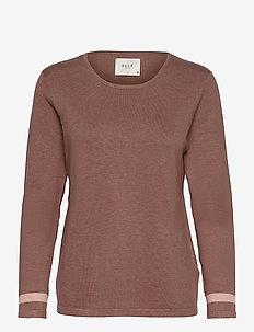 PZSARA Pullover - trøjer - brownie melange