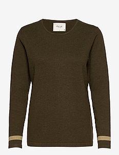 PZSARA Pullover - trøjer - wren melange