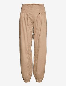 PZJILL Pant Wide Leg - casual bukser - tannin