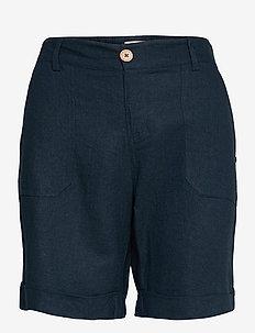 PZBIANCA Shorts - chino shorts - dark sapphire