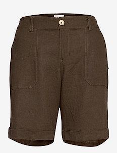 PZBIANCA Shorts - chino shorts - wren