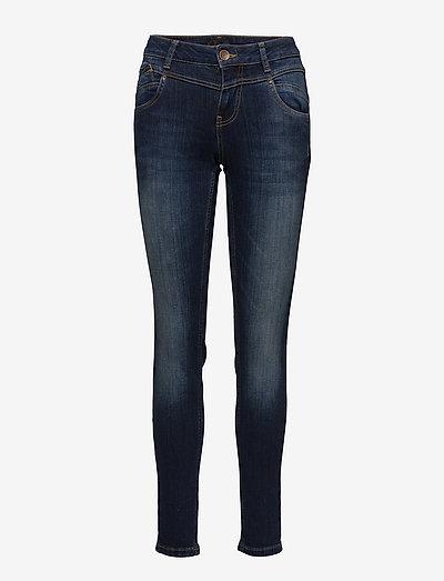 Carmen Highwaist skinny - skinny jeans - medium blue denim