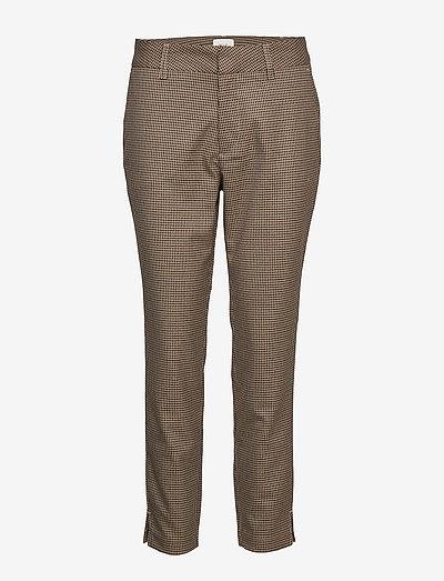PZJENNA Pant - bukser med lige ben - stone gray