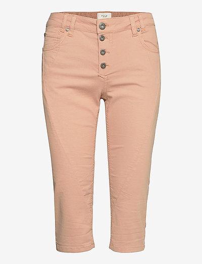 PZROSITA Pants - capri bukser - mahogany rose