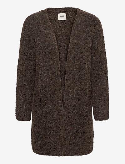 PZRAINBOW Cardigan Premium Quality - cardigans - chocolate brown melange