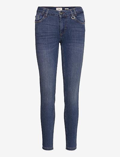 PZANNA Jeans Skinny leg - skinny jeans - medium blue denim