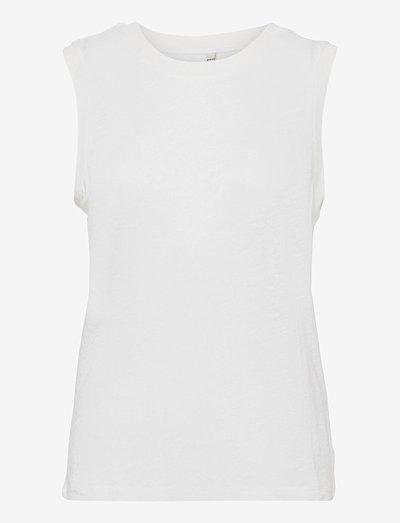 PZAMALIE Top - Ærmeløse toppe - bright white