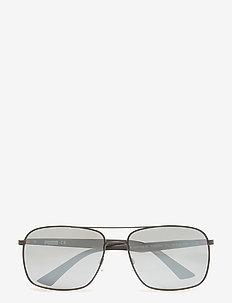 PU0006S - sunglasses - black-black-silver