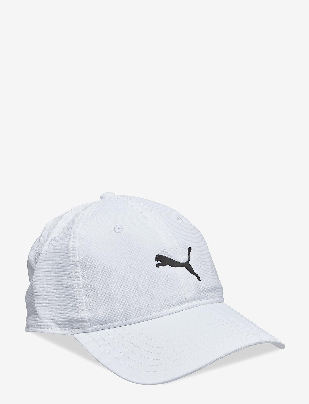 PUMA Golf - Pounce Adjustable Cap - kepsar - bright white - 0