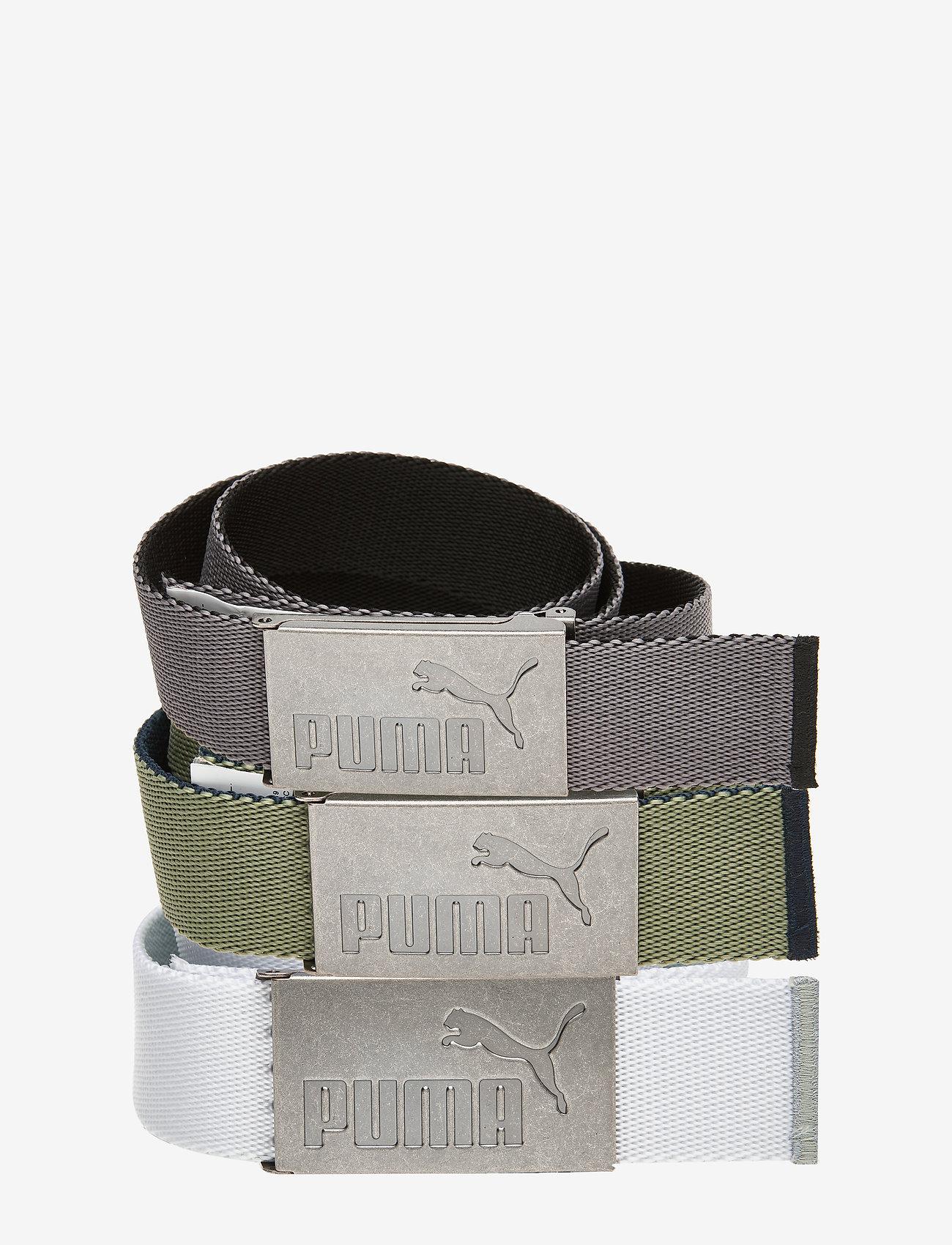 PUMA Golf - 6 Pack Web Belt - sportriemen - puma black-bright white - 0